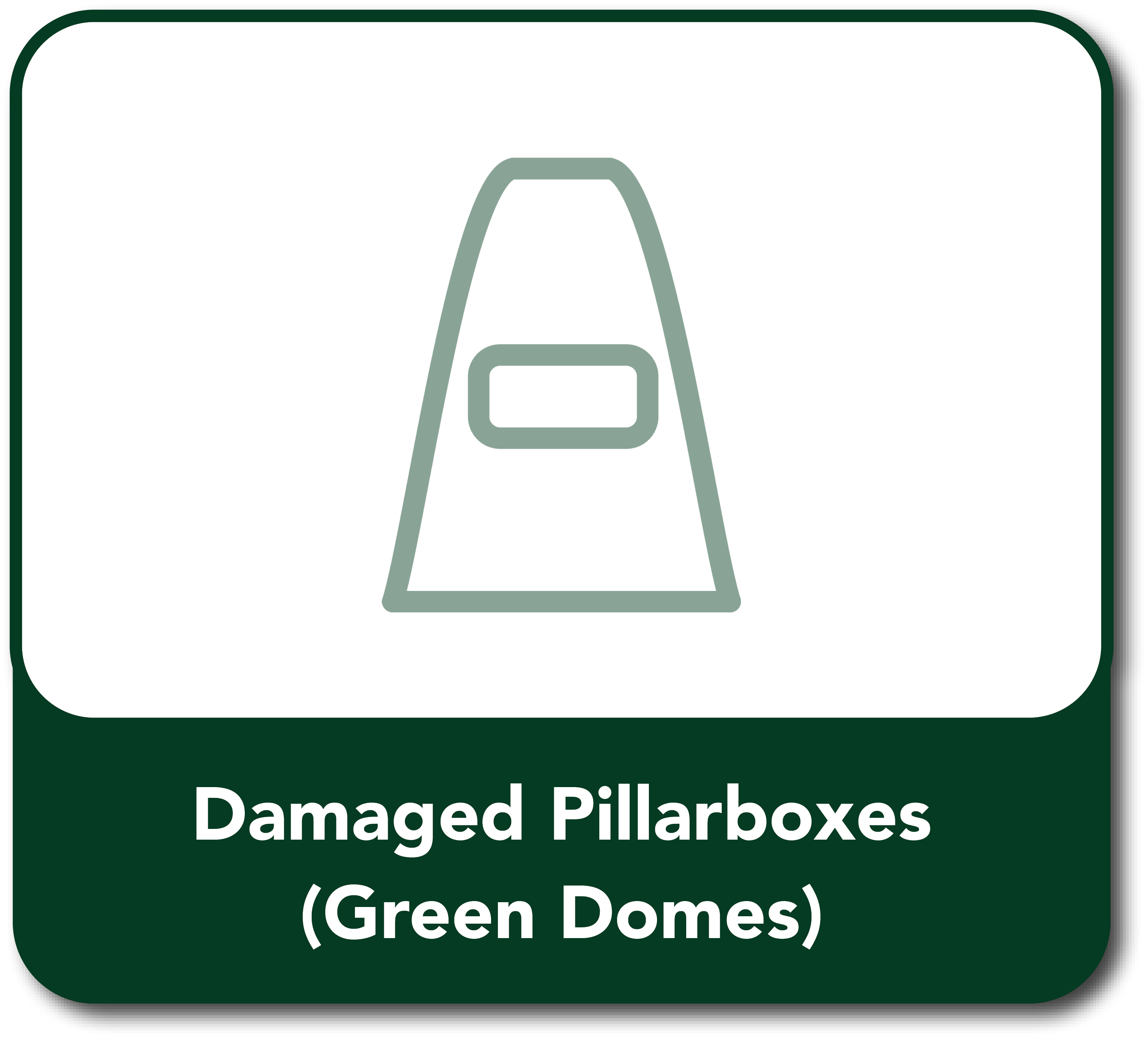 Damaged Pillarboxes Button hover