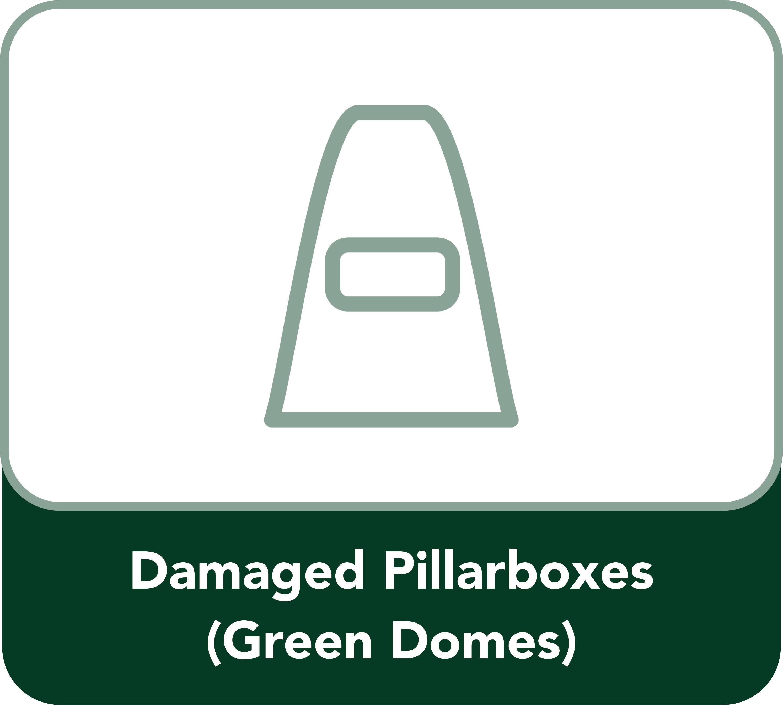 Damaged Pillarboxes Button