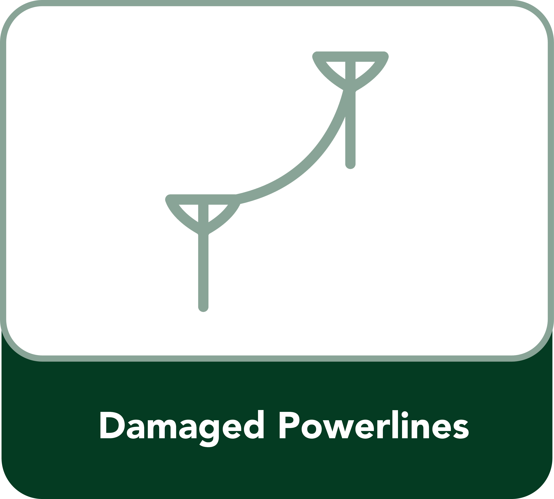 Damaged Powerlines Button